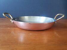 "Copper 15/"" Alicante Copper Paella Pan 2 mm thick hammered Eco  14 7//8/"" inside"