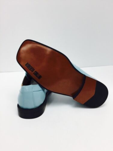 Boys/' Dress Shoes Topaz Looks Like Aqua Roberto Chillini Sizes 4.5-8