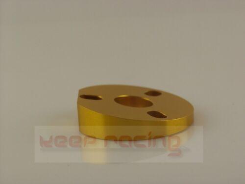 Lenkradaufnahme 5 Grad Neigungsplatte gold Unterlegplatte für Lenkradneigung