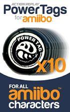 Extra x10 Amiibo Powertags / Powertag for use with Amiibo Powersaves