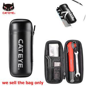 Cateye-Cycling-Tool-Capsule-Boxes-Rainproof-BikeTool-Bag-Black-Set-Bottle-Cage