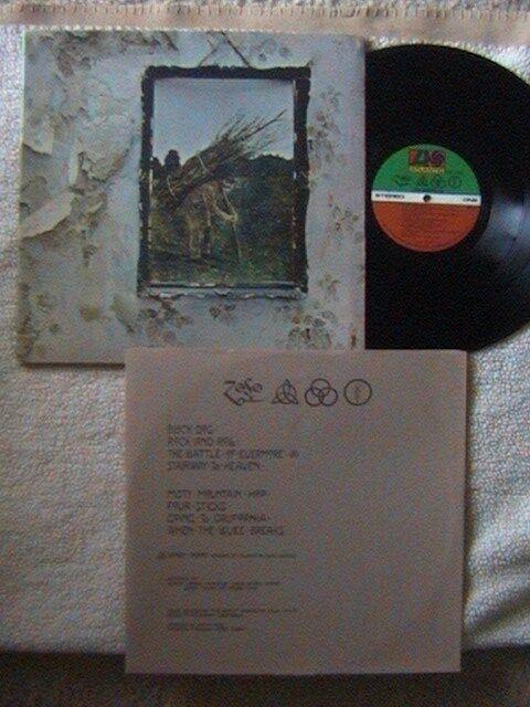 Led Zeppelin Vintage reprint Black /& White Poster Rock n/' Roll 1970/'s  inv#2872