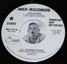 "Modern Soul Boogie 45~LA. CONNECTION~Jealousy~MCA 7"" PROMO CLEAN Vinyl"