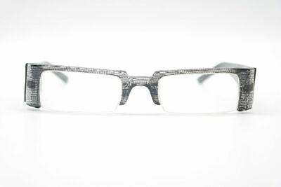 100% QualitäT Vintage No Limits By Ama 8157 004 48[]21 140 Schwarz Halbrand Brille Nos
