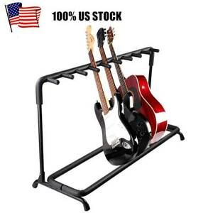 Multi-Guitar-Stand-7-9-Holder-Electric-Acoustic-Guitar-Stand-Folding-Rack