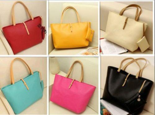 Hot Korean Lady Women Hobo PU Leather Messenger Handbag Shoulder Bag Totes Purse