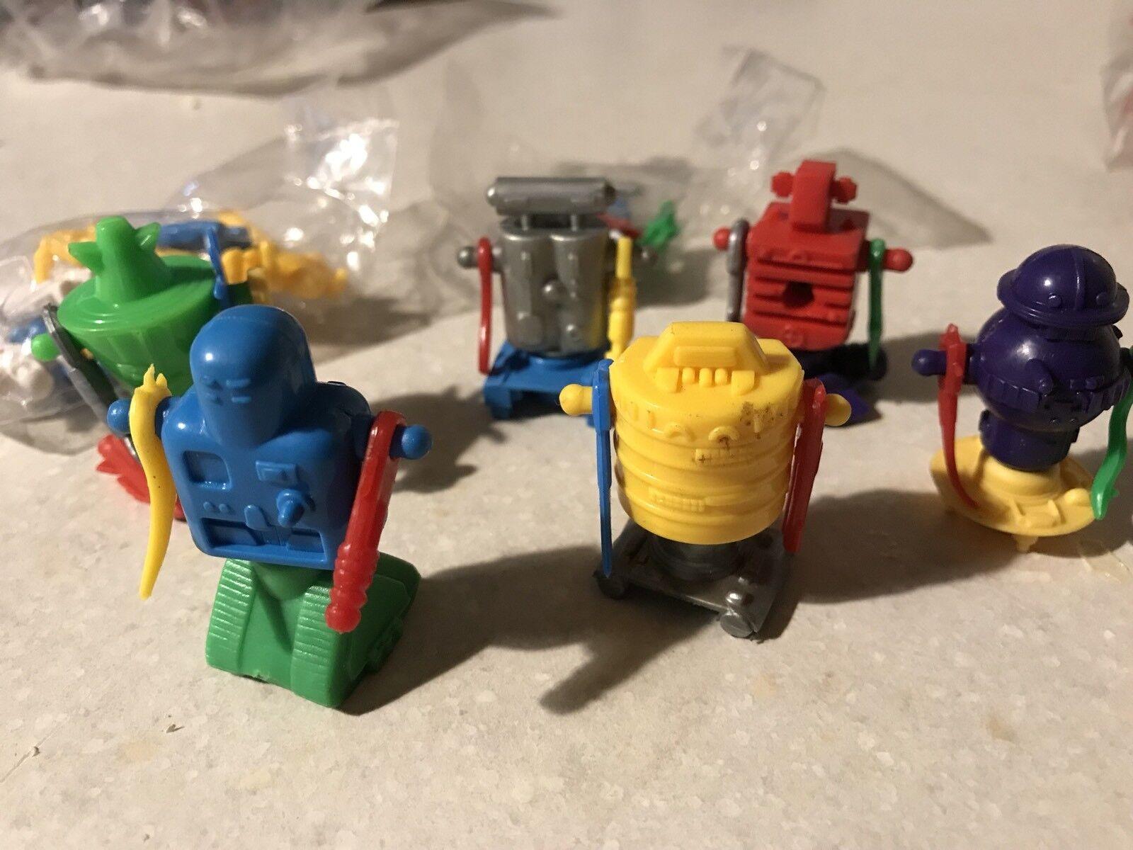 VINTAGE MANTA FORCE serie COMPLETA karnoid ROBOT blubird Toys Sigillato in Fabbrica