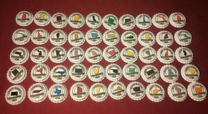 Complete-Set-of-50-US-States-Beer-Bottle-Caps-Free-Ship