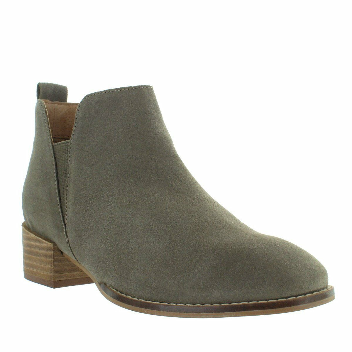 Seychelles Offstage - Taupe Suede Suede Suede Dual Gore Pull-On démarrageie b8c788