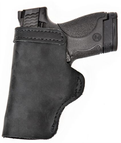 Pro Carry LT RH LH OWB IWB Leather Gun Holster For BROWNING 1911 380 FULL SIZE