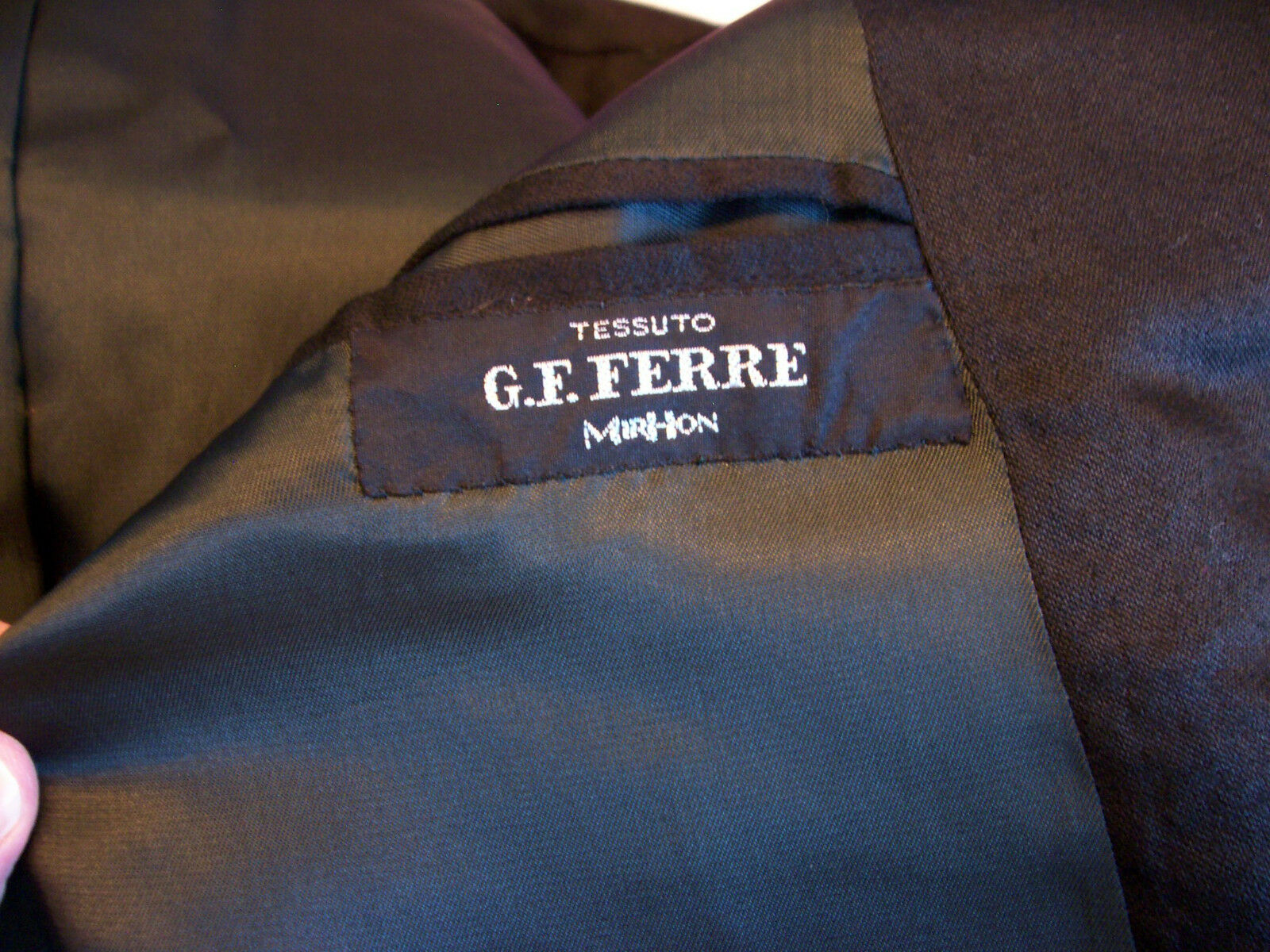 Uomo 42R fabulous Gianfranco Ferre formal suit from w/ Italy w/ from vest & cummerbund b610e9