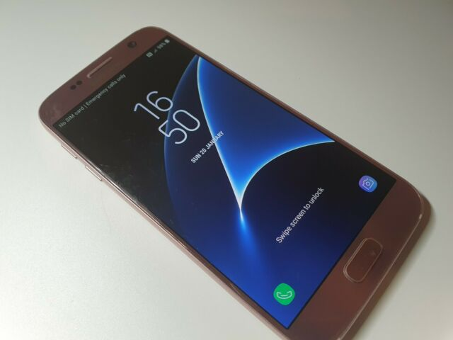 Samsung SM-G 930 fedabtu Galaxy 7 Octa-Core 4gb RAM 32gb Smartphone-Rose Gold...