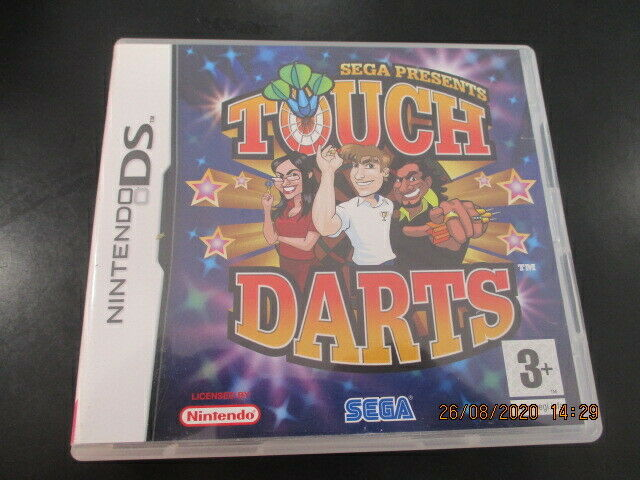 nintendo ds touch darts complet version fr  tbe