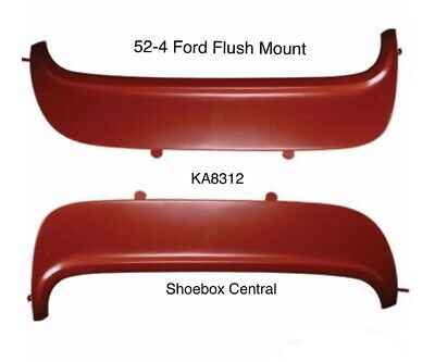 Sold as Pair 1952-1954 Ford Mercury KNS Accessories KA8312 Steel Primer Flush Mounted Fender Skirt
