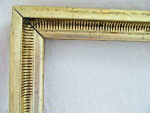 ANTIQUE-FIT-10-X-12-GOLD-GILT-PICTURE-FRAME-ORNATE-WOOD-FINE-ART-COUNTRY-STENCIL