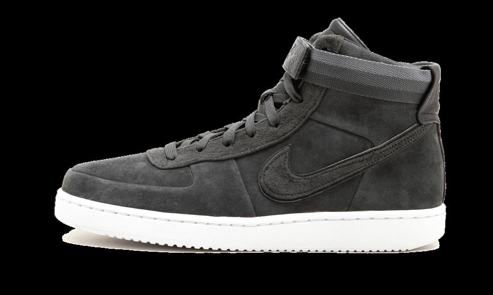 Nike John Elliott Vandal High PRM ANTHRACITE gris SUEDE blanc AH7171-002 sz 12