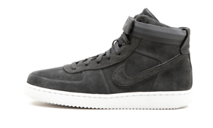 Nike John Elliott Vandal High WHITE PRM ANTHRACITE GREY SUEDE WHITE High AH7171-002 sz 12 66e158