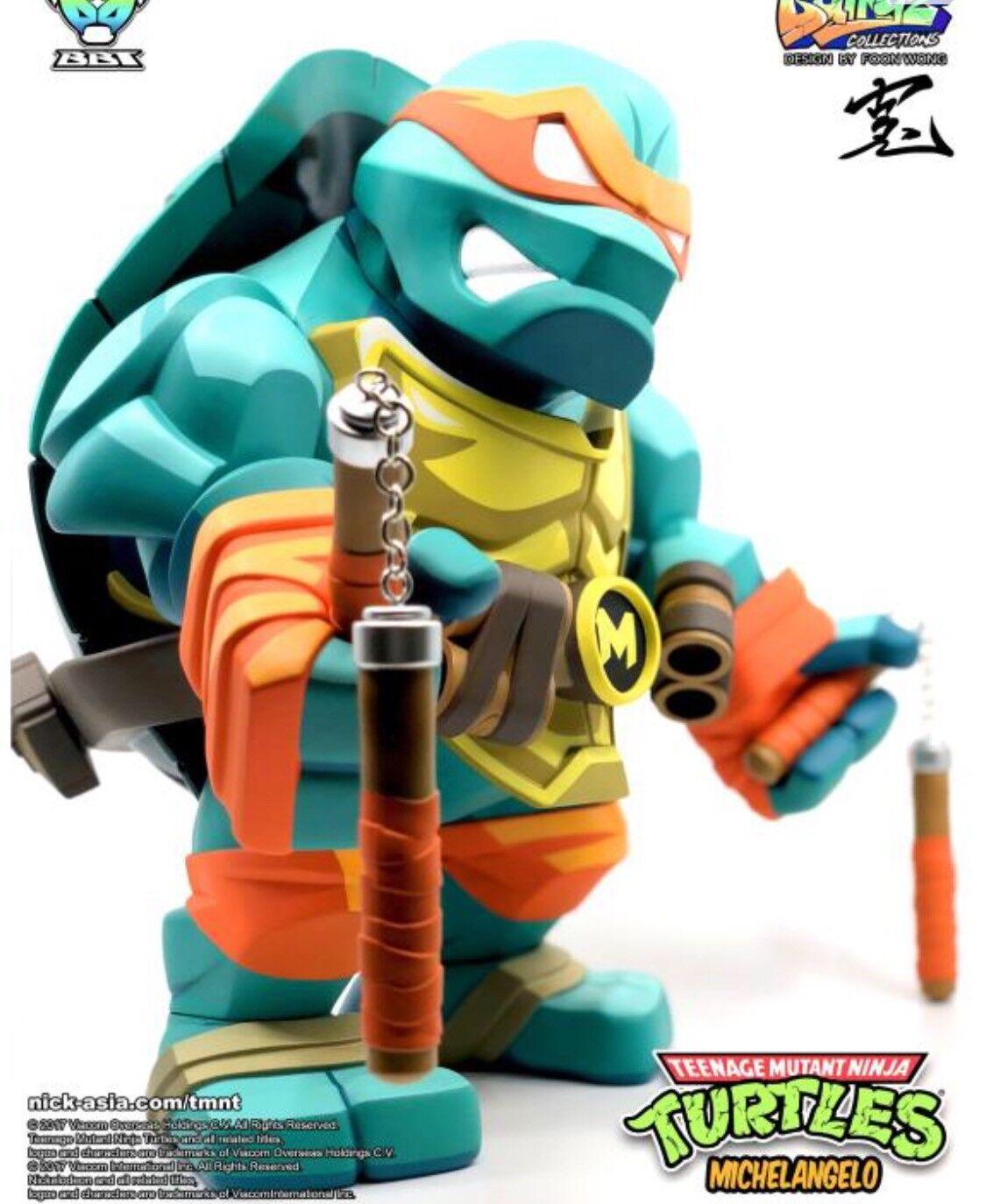 TMNT Bulkyz Michelangelo Deluxe LE 500 US Seller