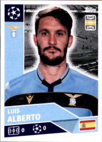 Luis Alberto Topps Champions League 2020//21 Sticker LAZ14