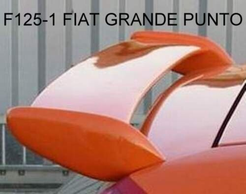 SPOILER ALETTONE GRANDE PUNTO F125-1G  GREZZO IN POLIDUR  TR