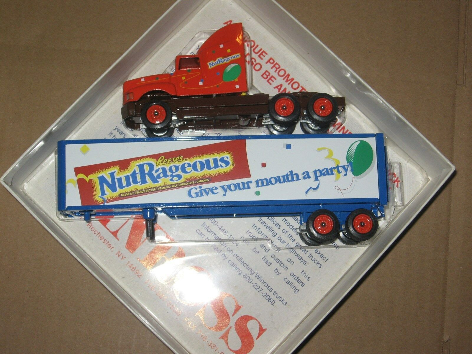 Winross 1 64 Reeses nutrageous Tractor Y Trailer