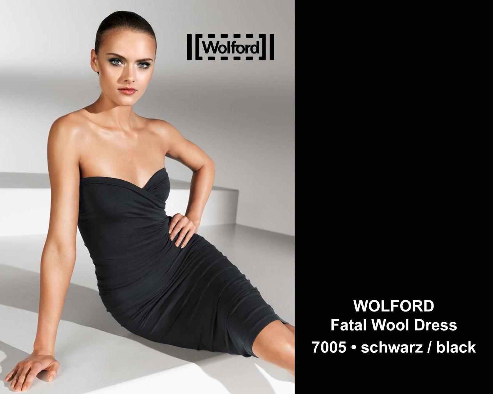 Wolford FATAL WOOL DRESS • schwarz •    ... Kleid aus sagenhaft weicher Wolle