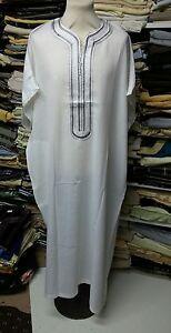 100% Cotton Moroccan Thobe/jubba/djelleba.kandorah.dishdash.jubba.size.58