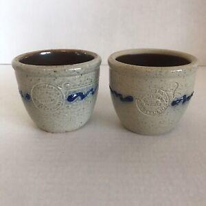 Shadowlawn-Pottery-Stoneware-Delavan-WI-Salt-Glazed-Small-Bowl-Tea-Light-Candle