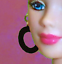 Barbie-Dreamz-LARGE-HOOP-RING-Hoops-EARRINGS-Doll-Jewelry-CHOICE-of-12-COLORS thumbnail 13