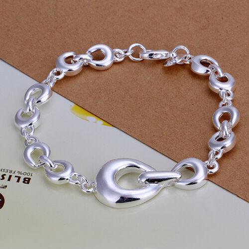 a Pulsera señora cadena de anclaje joyas señora pulsera PL con Sterling plata da292 t: