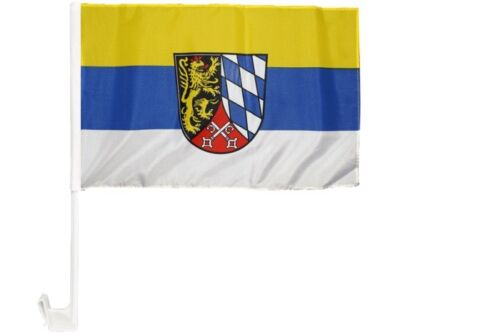 Deutschland Oberpfalz Autofahne Autoflagge Fahnen Auto Flaggen 30x40cm