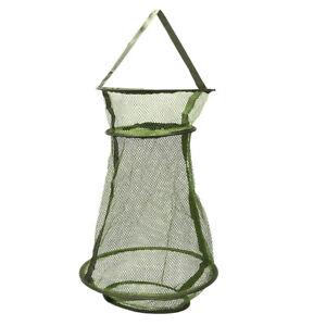 2PCS 75X20CM nylon Carp Bag Fish Keeper Net Fish basket Fishing Tackle CageE P1