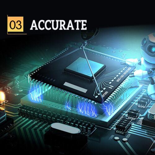 LCD Display DC Battery Monitor Meter 0-200V Voltmeter Ammeter fit Cars RV Solar