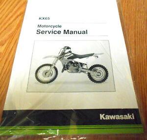 New kawasaki kx65 manual on the way cyclepedia.