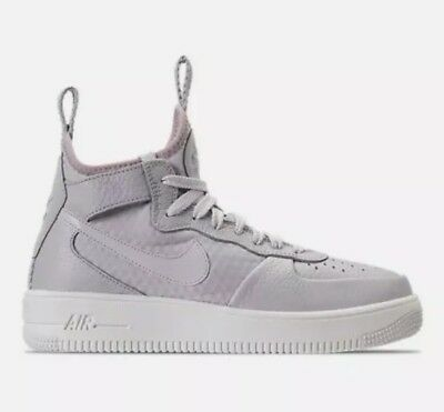 Nike Air Force 1 Ultraforce Mid Women's Shoes Vast Grey Particle Rose 864025 006 888411836100 | eBay