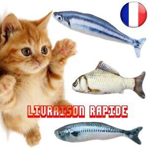 Poissons-Artificiels-Peluche-Animaux-compagnie-Chat-Chiot-Jouets-chien-Jouet