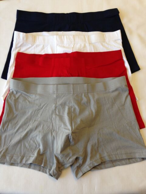 Set of FOUR H&M Boxer-Briefs New WITHOUT Price Tags size LARGE  (L4-c)