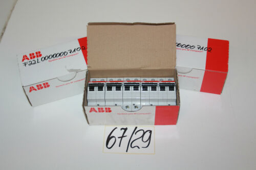 ABB S201-C16 NA Sicherungsautomat 2CDS 251 103 R0164  Set 10 Stk  67//29