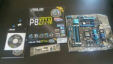 ASUS P8Z77-M LGA 1155 Intel Z77 HDMI SATA 6Gb/s USB 3.0 Micro ATX