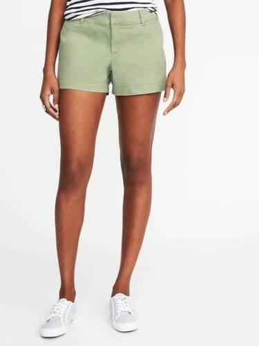 """Old Navy Sage Pixie Shorts 3.5/"""" inseam Sz:4  NWT"""