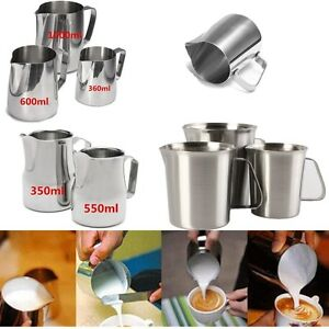 100-1000ml-Stainless-Steel-Espresso-Coffee-Jug-Craft-Latte-Milk-Frothing-Pitcher