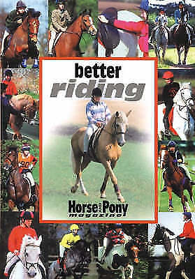 1 of 1 - Better Riding by Jackie Budd (Horse & Pony Magazine hardback, 1996)