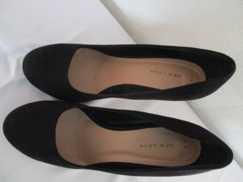 Escarpins noirs daim 39 Look dames pour New en 6 euros IqrO8wBI