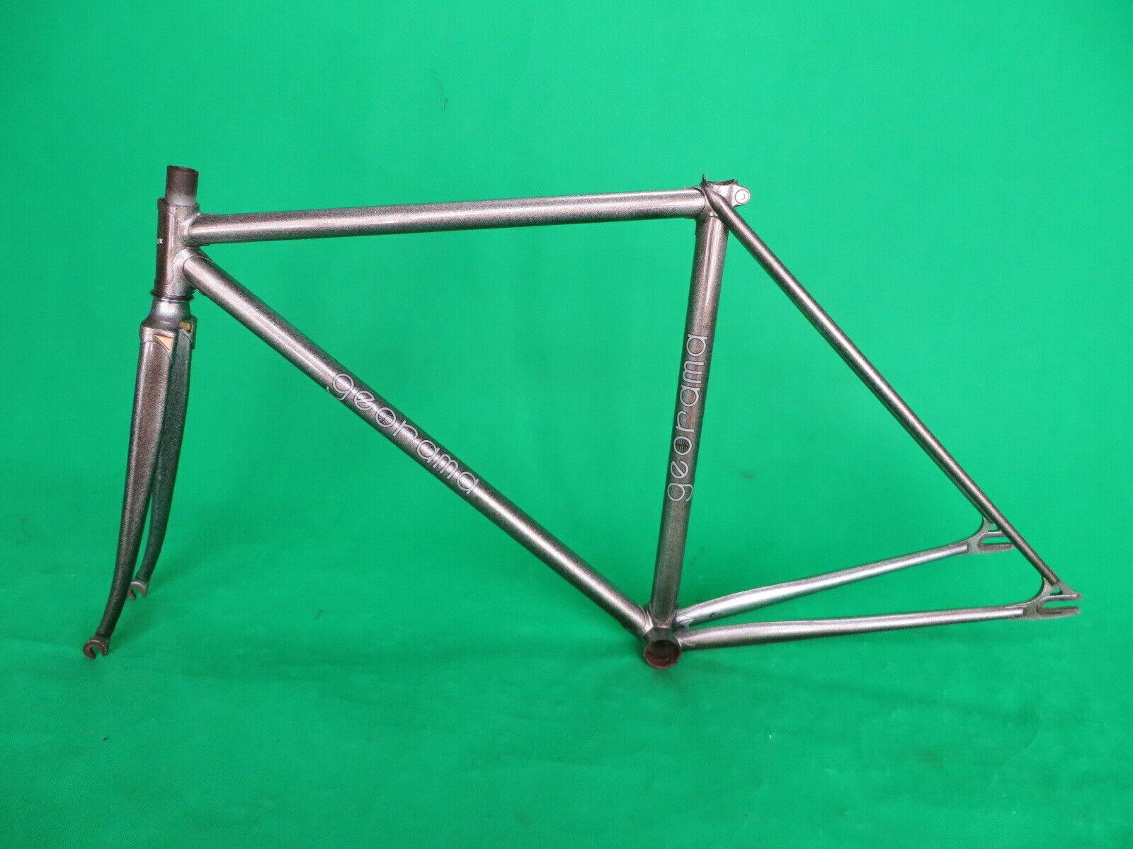 Georama NJS Keirin Frame Conjunto de pista de bicicleta de una sola velocidad FG pists 47.5cm
