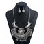 Fashion-Women-Pendant-Crystal-Choker-Chunky-Statement-Chain-Bib-Necklace-Jewelry thumbnail 7