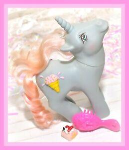 My-Little-Pony-MLP-G1-Vtg-1987-Coco-Berry-Sundae-Best-3D-Symbol-Ice-Cream