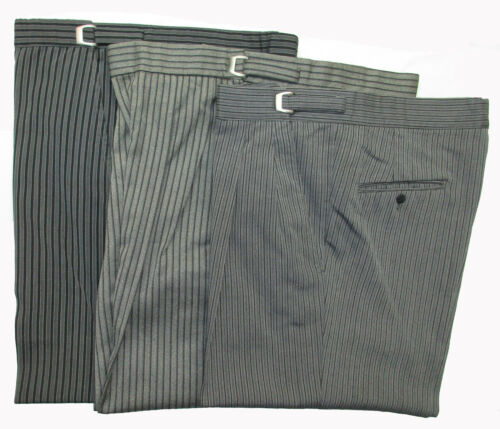 8 Pair of Hickory Striped Morning Trousers Pants Victorian Costume *Choose Size*