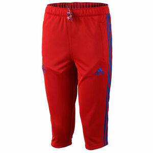 Adidas FC Bayern Munich Capri 3/4 Pants Soccer Training Pants ...