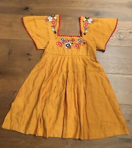 95423f9c84 Image is loading Authentic-MADEWELL-embroidered-square-neck-mini-dress-XS-