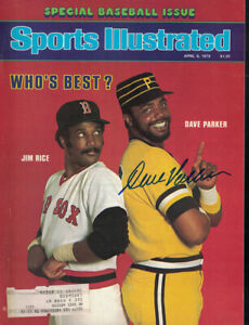 Dave Parker Signed Pittsburgh Pirates Sports Illustrated Mag 4/9/79 BAS 24995